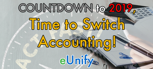 Countdown to 2019 Time to Switch Accounting