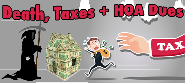 Death Tax HOA Dues