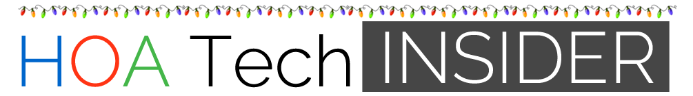 HOA Tech Insider logo horizontal Holiday 2019