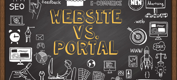 Website vs Portal 2018