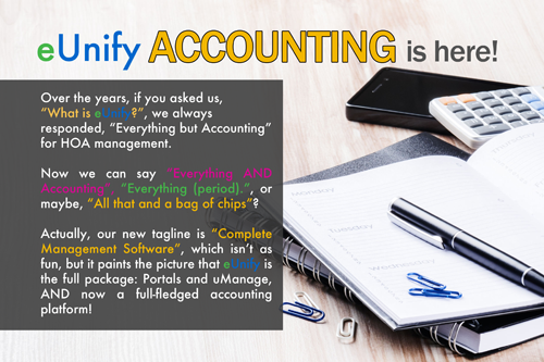 eUnify Accounting is Here HubSpot Landing page