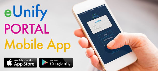 eUnify Portal Mobile App is here