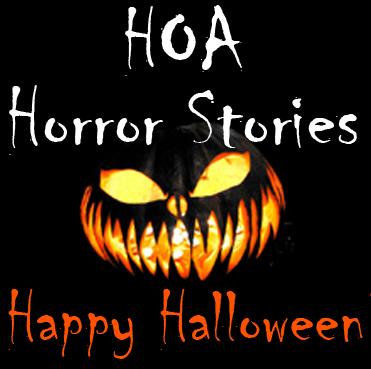 hoa horror stories happy halloween