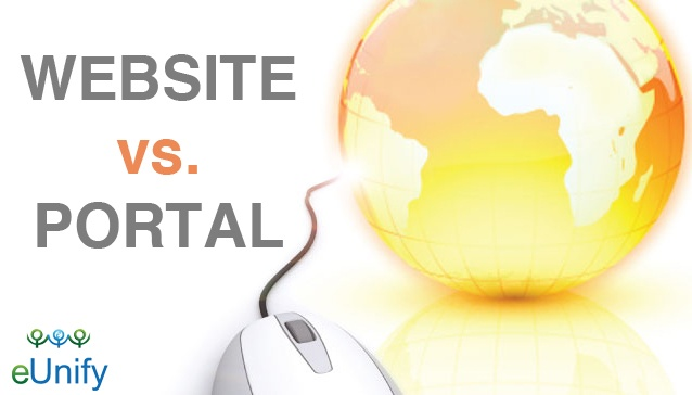 What Is The Difference Between A Website And A Portal
